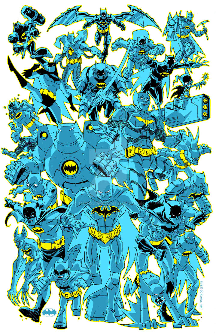 BATMAN COMICON SHIRT by RM73