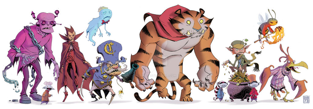CEREAL CREATURES by RM73