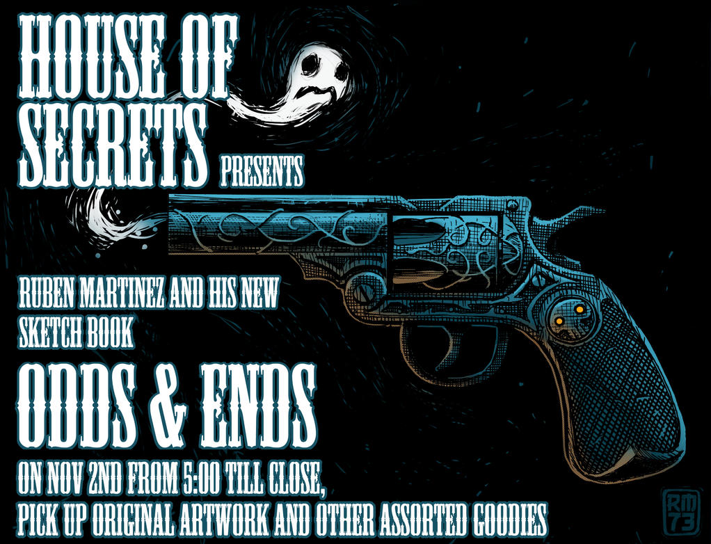 HOUSE OF SECRETS APPEARNCE by RM73