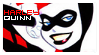 Harley Quinn stamp by 6worldeater