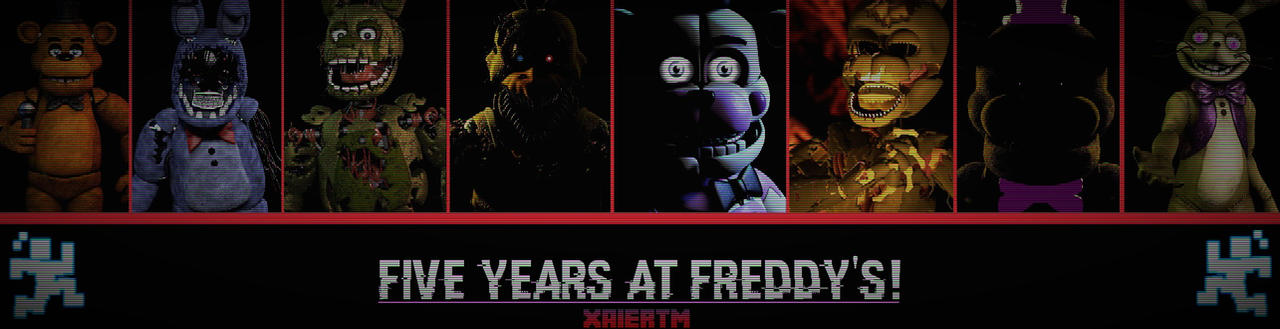 FNAF/GMOD] -Five Years at Freddy's!- by XaierTM on DeviantArt