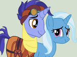 Hoo Far and Trixie