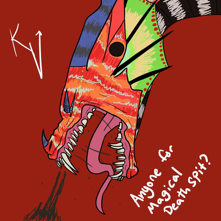 Magical Death Spit by Karma-Virus