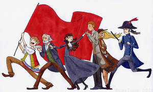 Les Mis in six characters