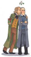 Mistletoe Kisses: Valjean and Javert