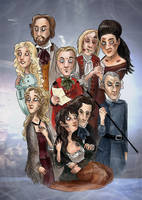 Les Mis Poster by Starlene