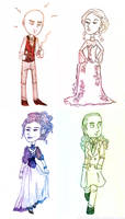 Jekyll and Hyde: Character Sketches