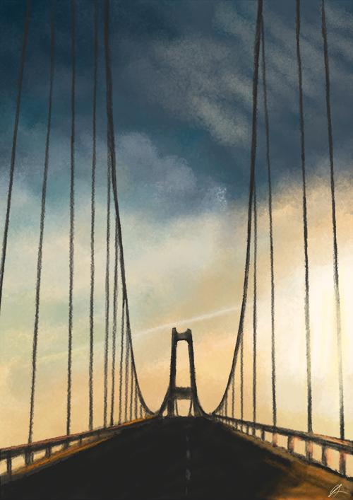 Storebaeltsbroen by Starlene