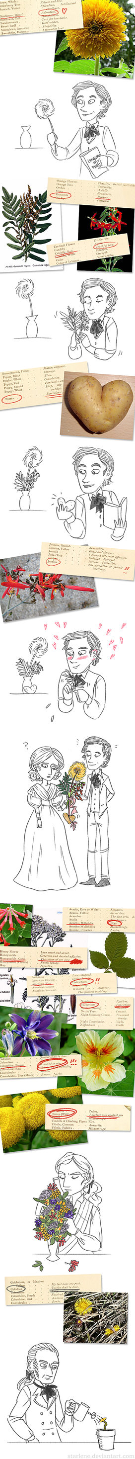Les Miserables and the Language of Flowers by Starlene