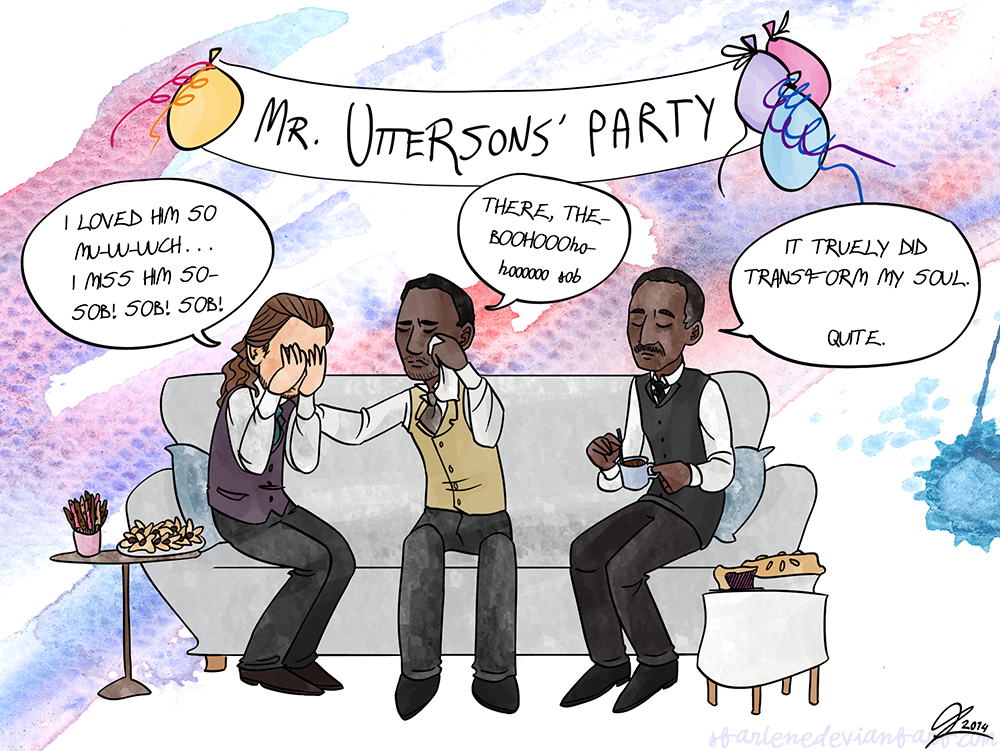 Christmas Cards 2/5: Mr. Uttersons' Party