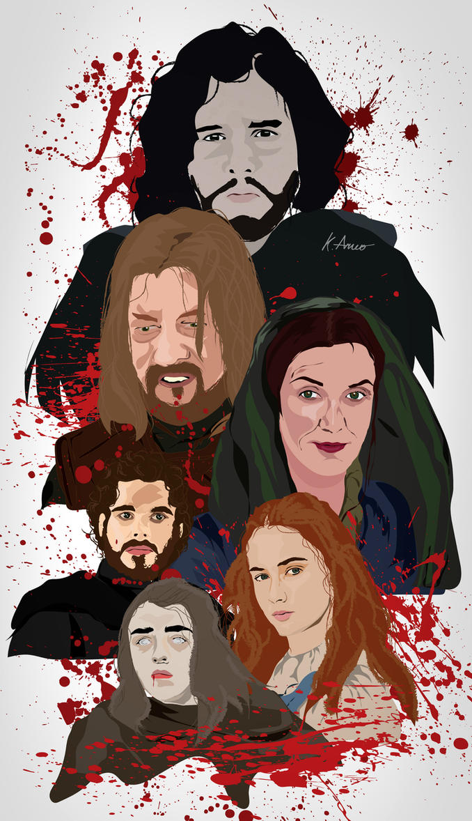 House Stark by BasicallyCrazy