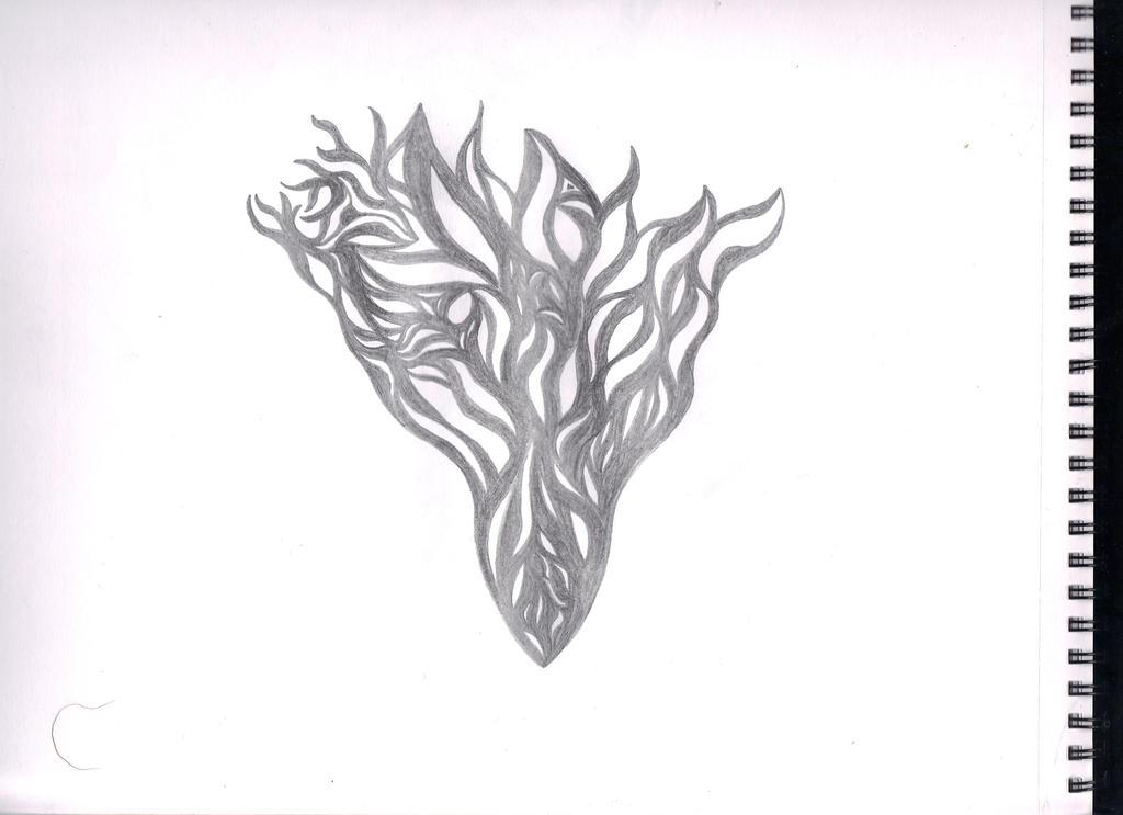 Flame Triangle by FredTheBigPic