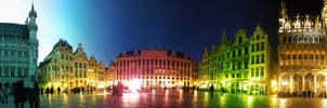 Brussels in color