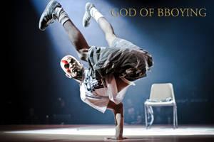 God of bboying by 4progress