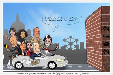 Belgian politics by 4progress