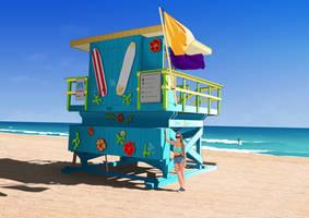 Miami beach by 4progress