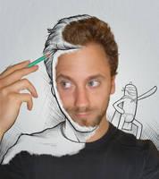 self portrait by 4progress