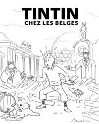 tintin chez les belges by 4progress