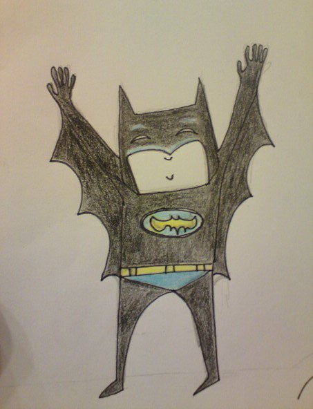Yay i'm BATMAN by TeapotMysteries