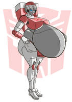 Commission- Arcee by Axel-Rosered