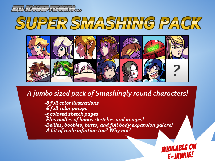 Super Smashing Pack by Axel-Rosered