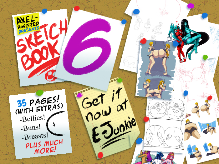 Sketch Book 6 by Axel-Rosered