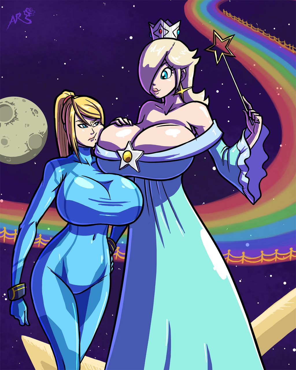 Super Smashing - Space Queens by Axel-Rosered on DeviantArt