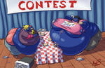 Pack Preview - Shannon and Annette Eating Contest