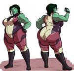Summer Cuties - She-Hulk