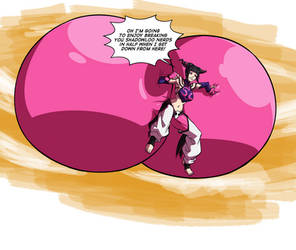 Rear End of the Year - Juri in the Sky by Axel-Rosered
