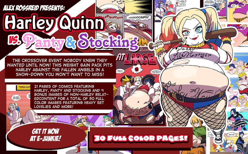 Harley Quinn vs. Panty and Stocking
