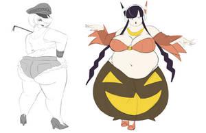 Halloween Sketches 1
