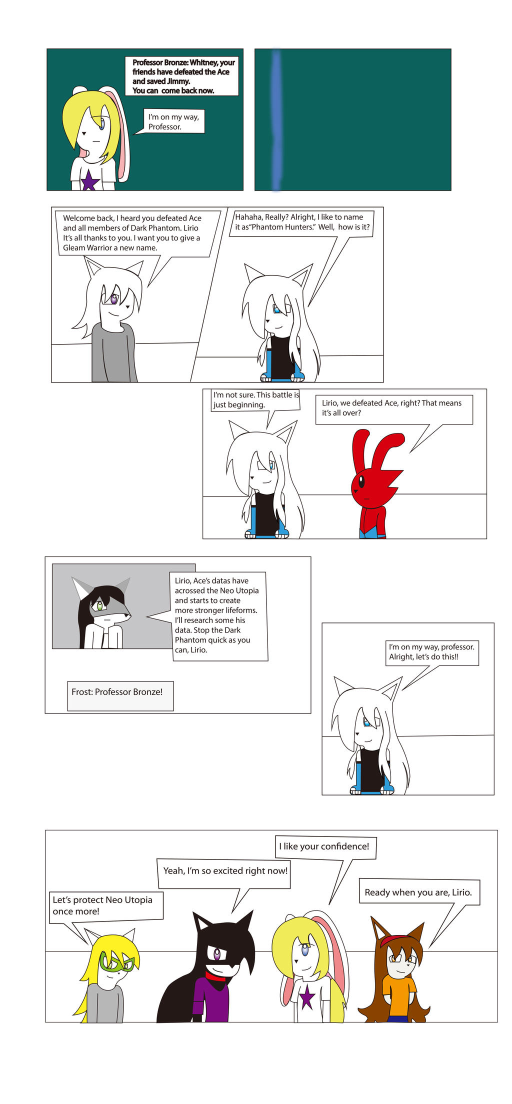 Diamond Star Chapter Final part 47  by BioProject04