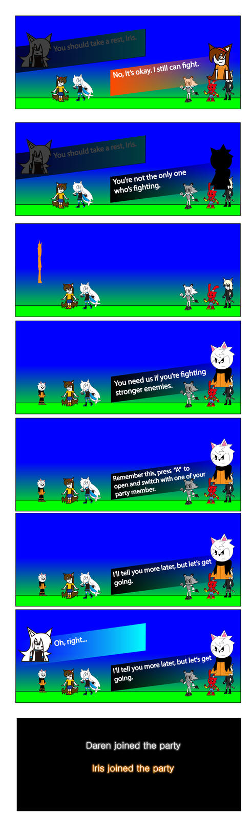 Destiny of Huroids Chapter 2 part 13 by BioProject04