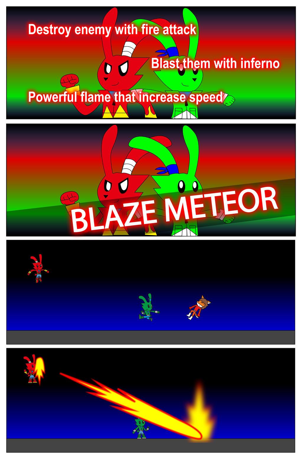Blaze Meteor by BioProject04