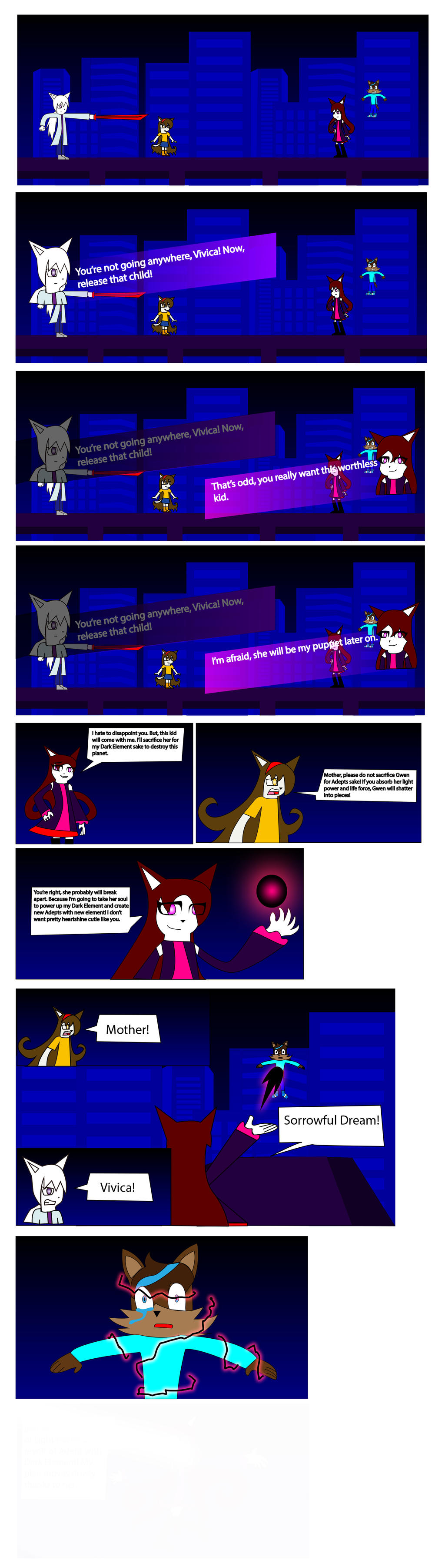 Darkness Impact Chapter 5 part 1 by BioProject04