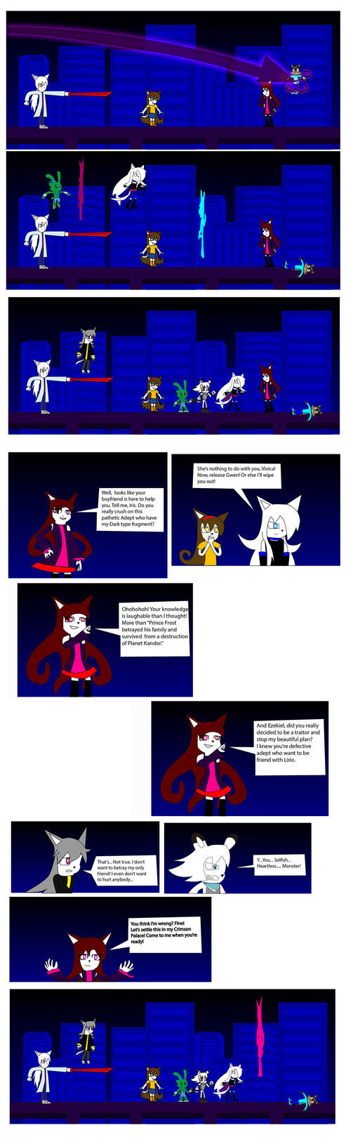 Darkness Impact Chapter 5 part 2 by BioProject04