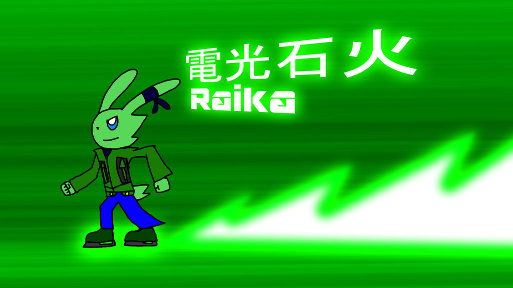 Green's Raika by BioProject04