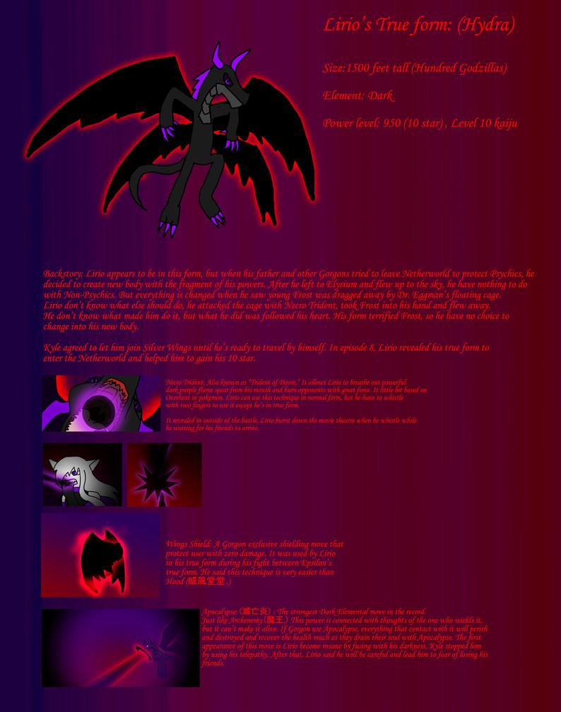 Lirio's true form (Hydra) by BioProject04