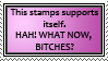 Self-Support Stamp by JRCnrd