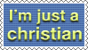 The Christian Stamp by BrokenTutorials