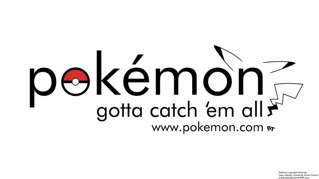 A More Modern Pokemon Logo 353670014