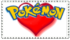 stamp: I heart pokemon by I-drew-a-pokemon