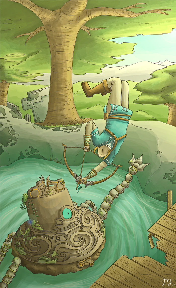 Zelda U Promo by I-drew-a-pokemon