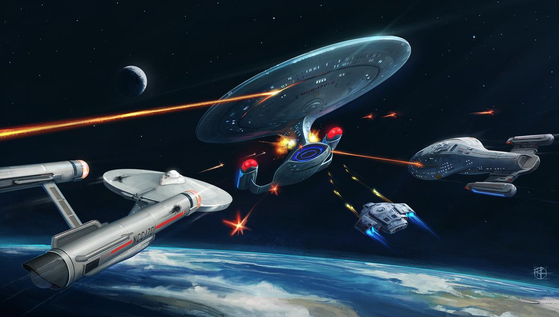 Star Trek Timlines Key Art by Cpt-Crandall
