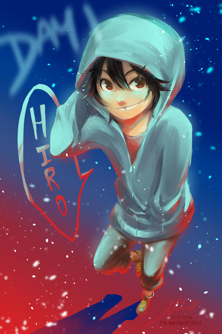Day 1 : Hiro by WARIN14