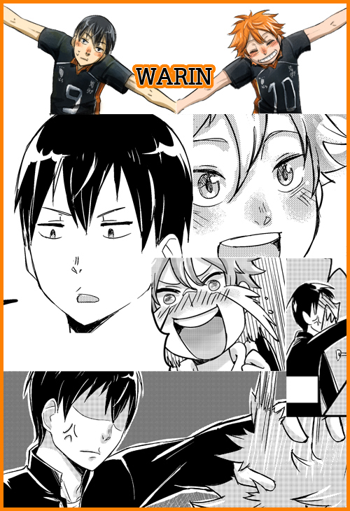 Haikyuu!! Doujin Preview by WARIN14