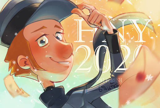 HNY 2020 with Jesper (Klaus)