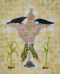 A Straw Man, not a Scarecrow by aztlanwayne