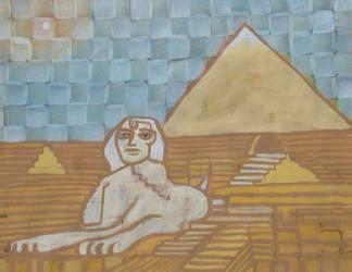 Sphinxy by aztlanwayne